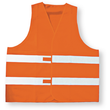 Warnweste Orange Polyester